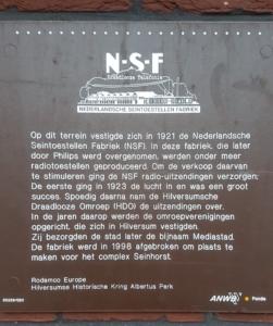 Plaquette bij Seinhorst